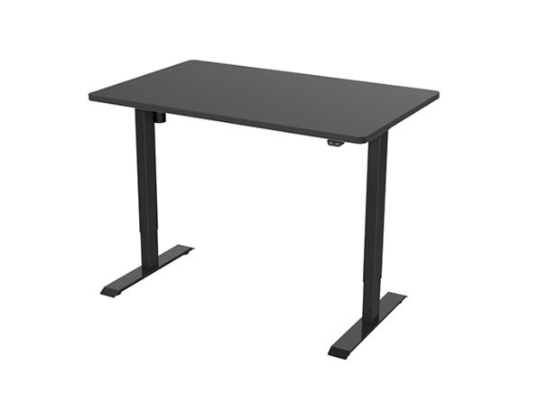"""EC1 Electric Height Adjustable Standing Desk (Black/55""""x28"""")"""