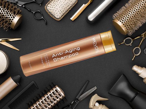 MACVOIL Anti-Aging Argan Shampoo