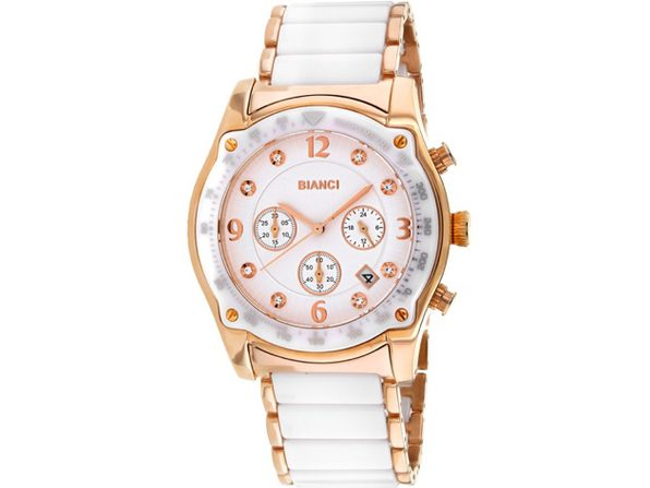 Roberto Bianci Women's Simona White Dial Watch - RB58741