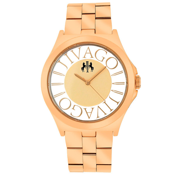 Jivago Women's Fun Rose gold Dial Watch - JV8411
