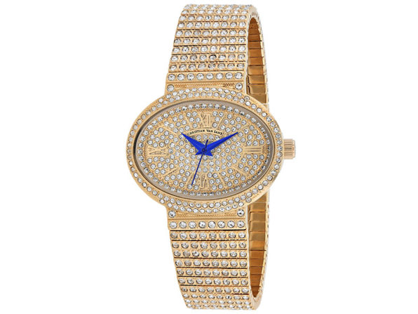 Christian Van Sant Women's Rose gold Dial Watch - CV0252 - Product Image