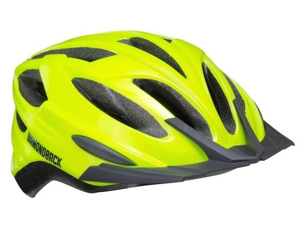 Diamondback Recoil Mountain Bike Helmet - Flash Yellow - Large (New)