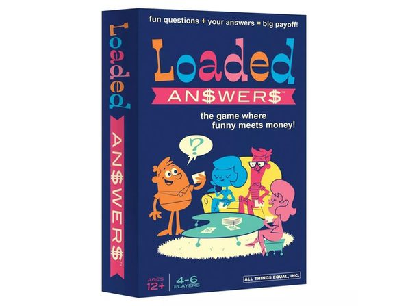 Loaded Answers Board Game, For 4-6 Players, Playing Time: 30-40 Minutes, Age: 12 Years and Up
