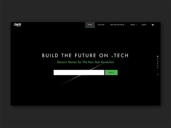.tech domain name - 1 year subscription - Product Image