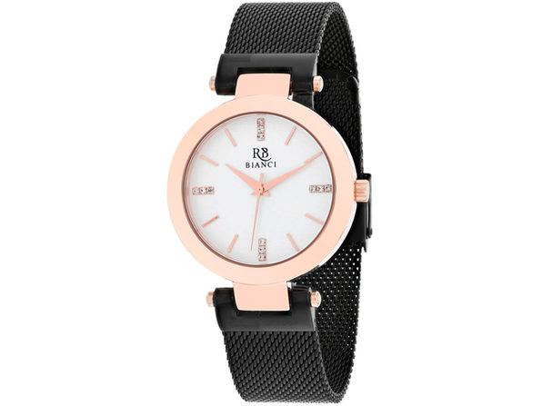 Roberto Bianci Women's Cristallo Silver Dial Watch - RB0404 - Product Image