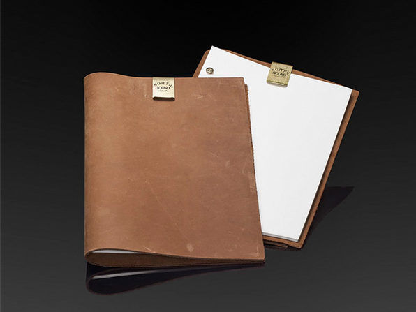 Northbound Notebooks Buffalo Leather A4 Notebook - Product Image