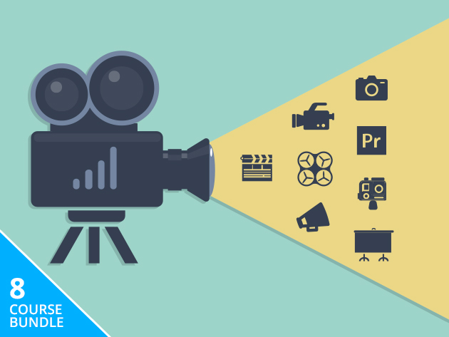 Capture & Edit Amazing Video with 8 Courses (33.5+ Hours) of Instruction