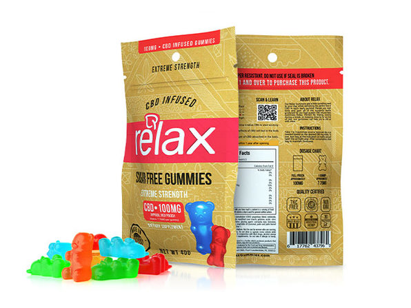 Diamond CBD-Infused Sugar-Free Sour Bears