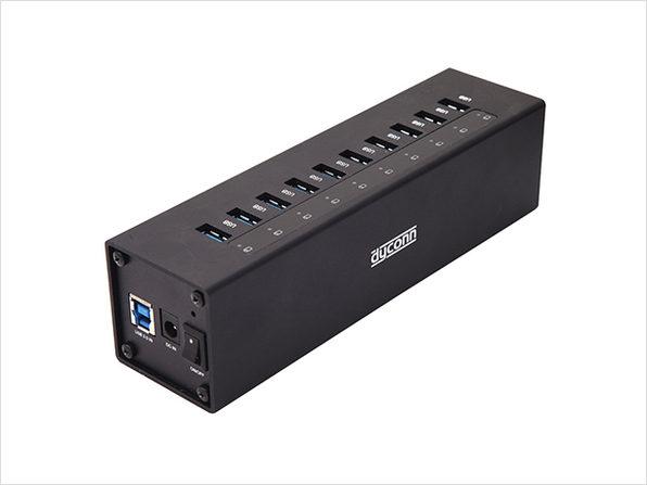 Dyconn 12-Port USB Power Hub