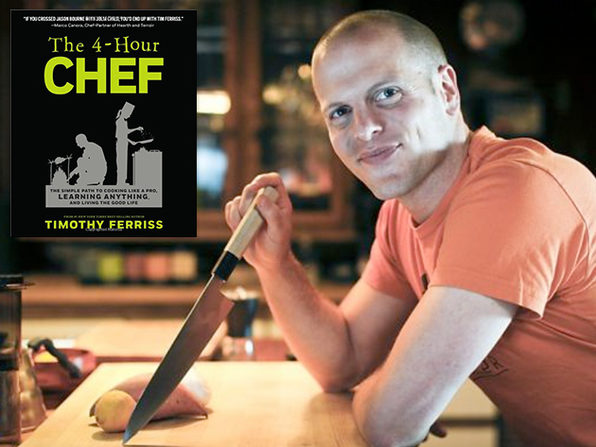 The NYT Best Selling 4-HR Chef Audiobook - Product Image