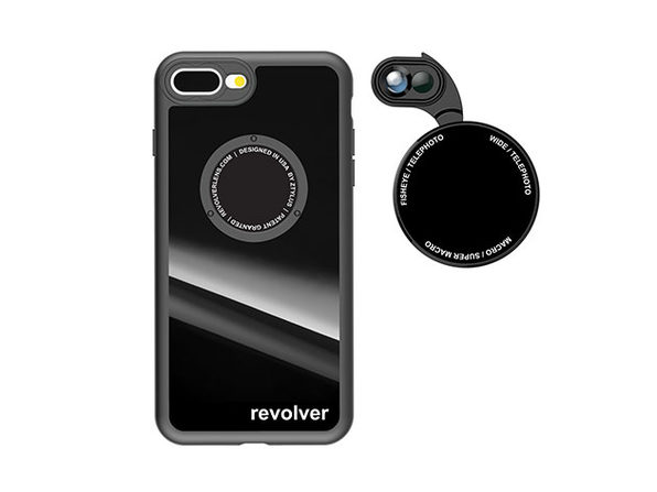 Ztylus Revolver M6 iPhone 7 Plus/8 Plus Lens Kit (Gloss Black)
