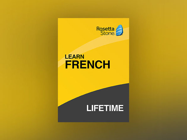 Rosetta Stone: Lifetime Subscription (French)