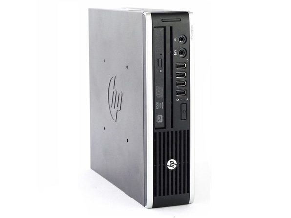 HP Compaq Elite 8000 Ultra Small Form Factor PC, 3GHz Intel Core 2 Duo, 2GB RAM, 160GB SATA HD, Windows 10 Home 64 Bit (Renewed)