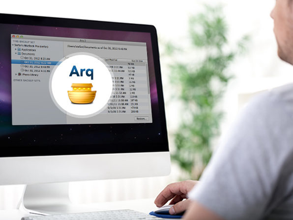 Arq: Fast, Easy, Automatic Back Up Of All Your Files (For