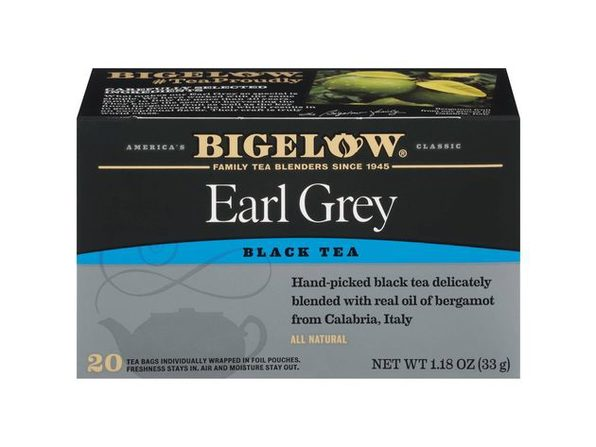Bigelow Classic Earl Grey Gluten Free, Calorie Free and Kosher Certified Tea Bags, 20 Count