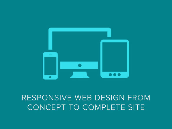 Responsive Web Design from Concept to Complete Site - Product Image