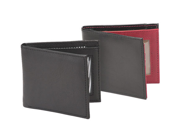 Vault RFID-Blocking Leather Wallet