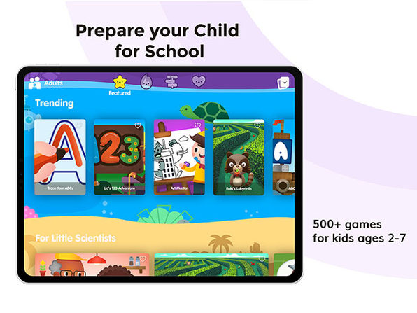 Papumba Fun Learning App for Kids: 1-Yr Subscription