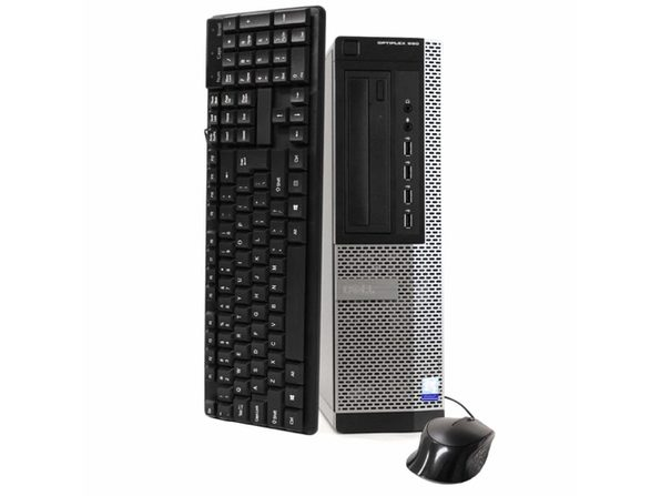 Dell OptiPlex 990 Desktop PC, 3.2 GHz Intel i5 Quad Core Gen 2, 8GB DDR3 RAM, 500GB SATA HD, Windows 10 Professional 64 Bit (Refurbished Grade B)