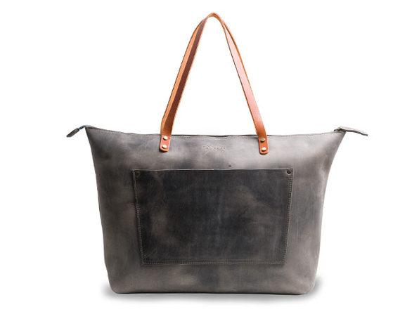 LaSalle Rustic Leather Tote (Jumbo/Premium)