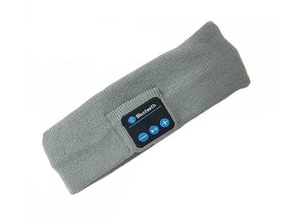 Wireless Bluetooth Winter Headband - Gray - Product Image