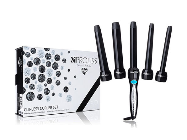 Interchangeable Advanced Digital Curling Wand