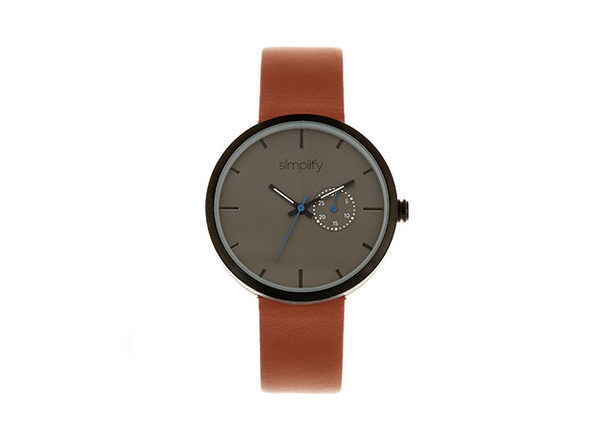 "Simplify ""The 3900 Series"" Men's Quartz Watch (Model 3904)"