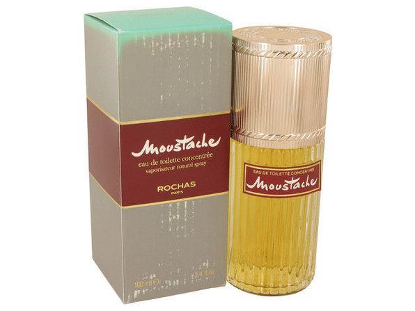 MOUSTACHE by Rochas Eau De Toilette Concentree Spray (Damaged Box) 3.4 oz - Product Image