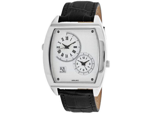 Roberto Bianci Men's Benzo Silver Dial Watch - RB0740