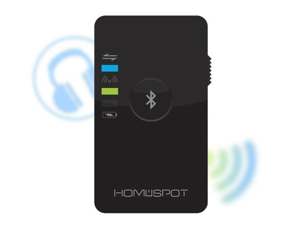 HomeSpot Dual Stream Bluetooth Audio Transmitter
