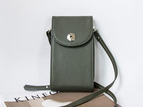Mini Cross Body Purse - Green - Product Image