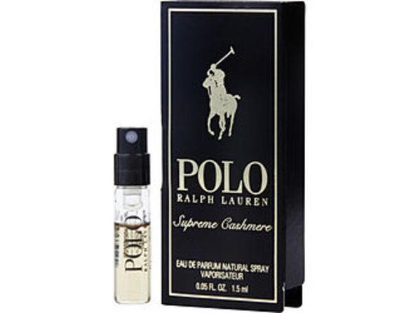 POLO SUPREME CASHMERE by Ralph Lauren EAU DE PARFUM SPRAY VIAL For MEN - Product Image