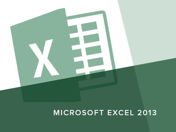 Microsoft Excel 2013 Course - Product Image