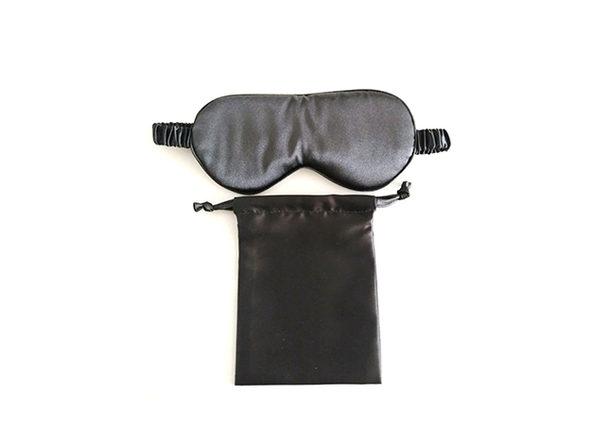 Soft Eyes Sleep Mask Set (Silky Black)