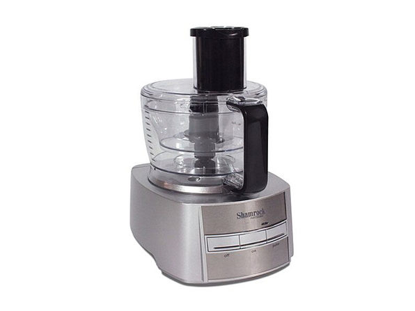 Shamrock Food Processor & 10-Piece Accessory Set