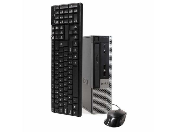 Dell 790 Ultra Small Form Factor PC, 3.2 GHz Intel i5 Quad Core Gen 2, 8GB DDR3 RAM, 500GB SATA HD, Windows 10 Home 64 Bit (Refurbished Grade B)