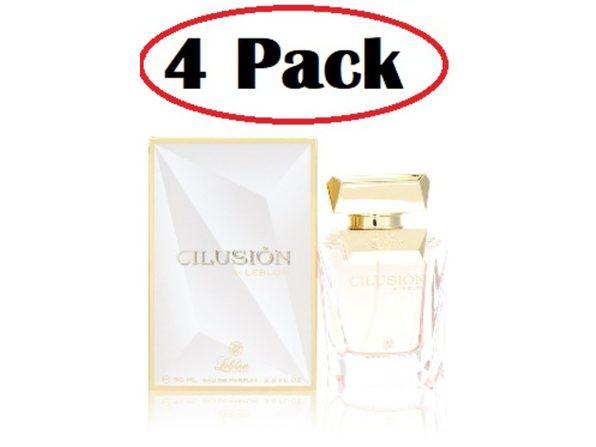 4 Pack of Leblon Ilusion by Leblon Eau De Parfum Spray 3.0 oz - Product Image