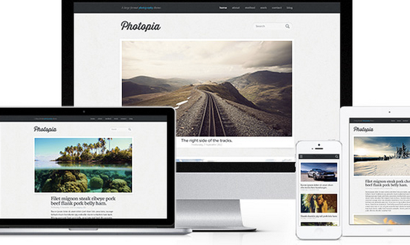 Beautiful WordPress Themes - Product Image