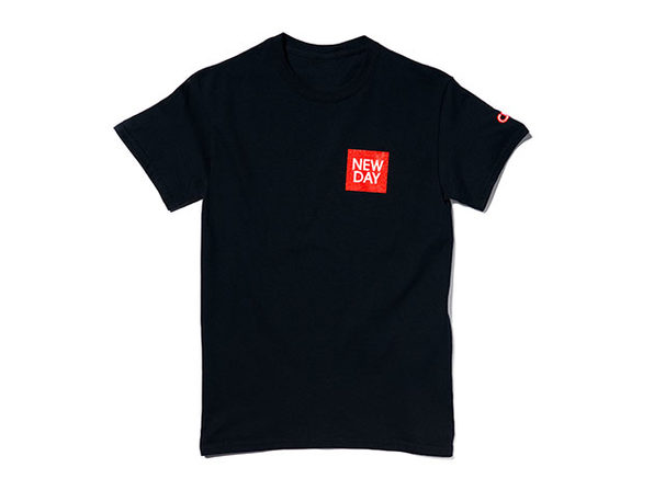 New Day Tee Black  M