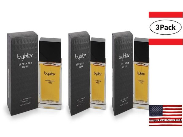 3 Pack September Morn by Byblos Eau De Parfum Spray 3.4 oz for Men - Product Image