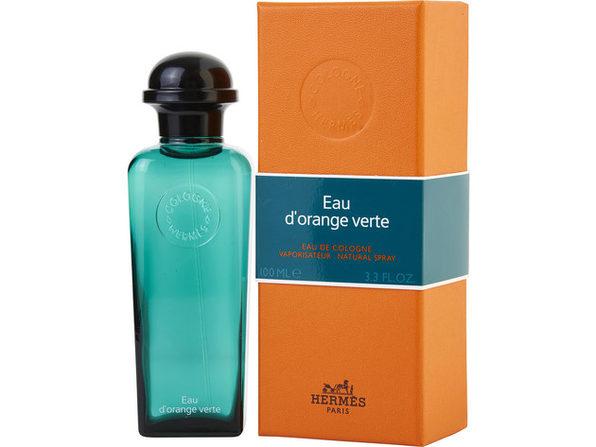HERMES D'ORANGE VERT by Hermes EAU DE COLOGNE SPRAY 3.3 OZ for MEN ---(Package Of 3)