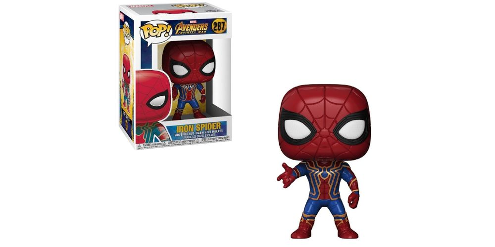 Funko POP – Infinity War – Iron Spider – Vinyl Collectible Figure, on sale for $21.84 (9% off)