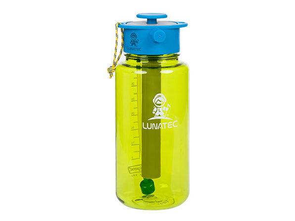 Lunatec 1L Hydration Spray Water Bottle (Green) + TUBE Extension