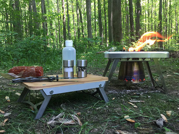 nCamp Stove & Prep Surface Bundle