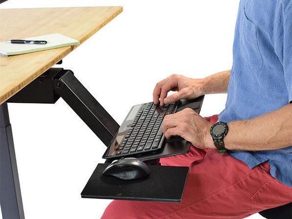 KT2 Adjustable Under-Desk Keyboard Tray