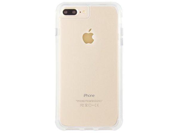 Case-Mate Apple iPhone 8 Plus/7 Plus/6s Plus/6 Plus Drop Protective Tough Case, Clear (New Open Box)