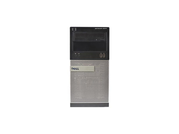 Dell OptiPlex 3010 Tower PC, 3.2GHz Intel i5 Quad Core, 16GB RAM, 120GB SSD, Windows 10 Home 64 bit (Renewed)