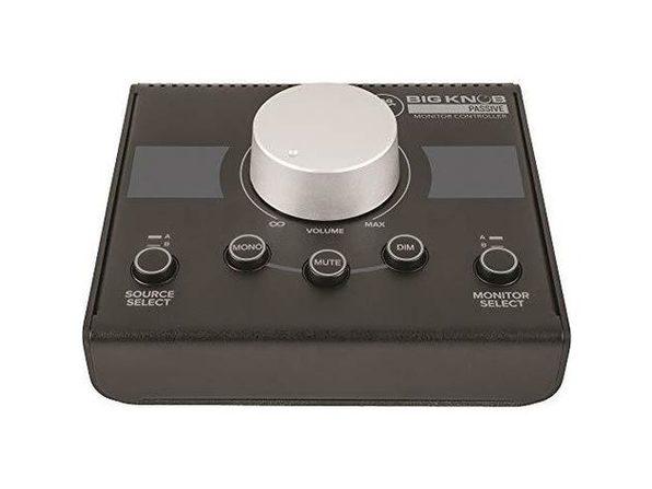 Mackie Big Knob Series Pristine Studio Monitor Controller, Passive 2x2 - Black (Used, Damaged Retail Box)