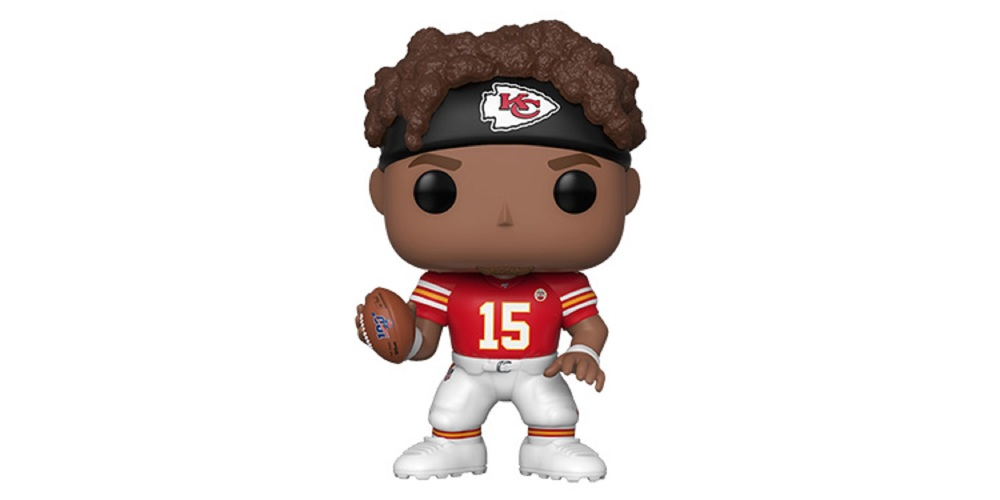 Patrick Mahomes II Funko POP – Kansas City Chiefs, on sale for $18.39 (9% off)