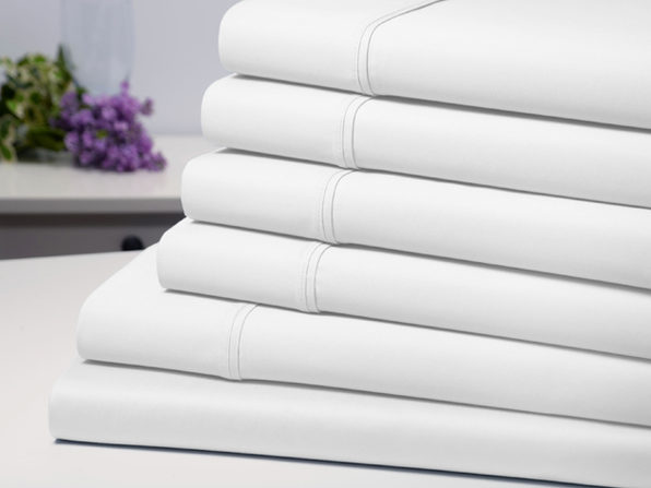 Bamboo Comfort Luxury 6-Piece Sheet Set (White/Queen)